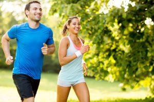 Moderate running