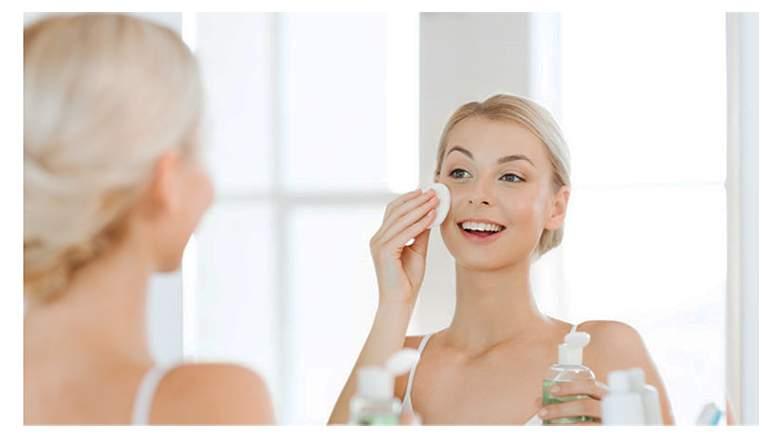 skin toner is used