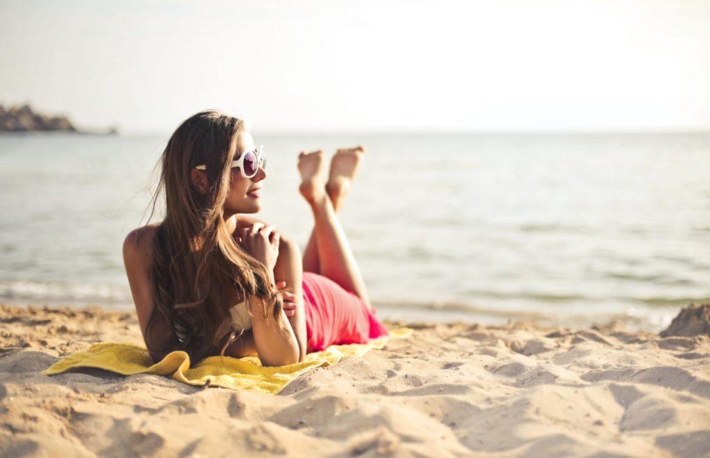 Sunglass beach image