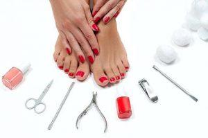 benefits manicure &pedicure
