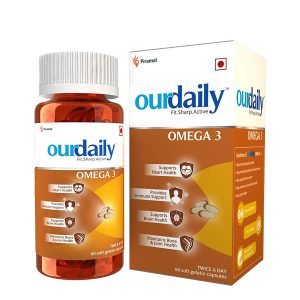 Our daily Omega 3 Fish Oil
