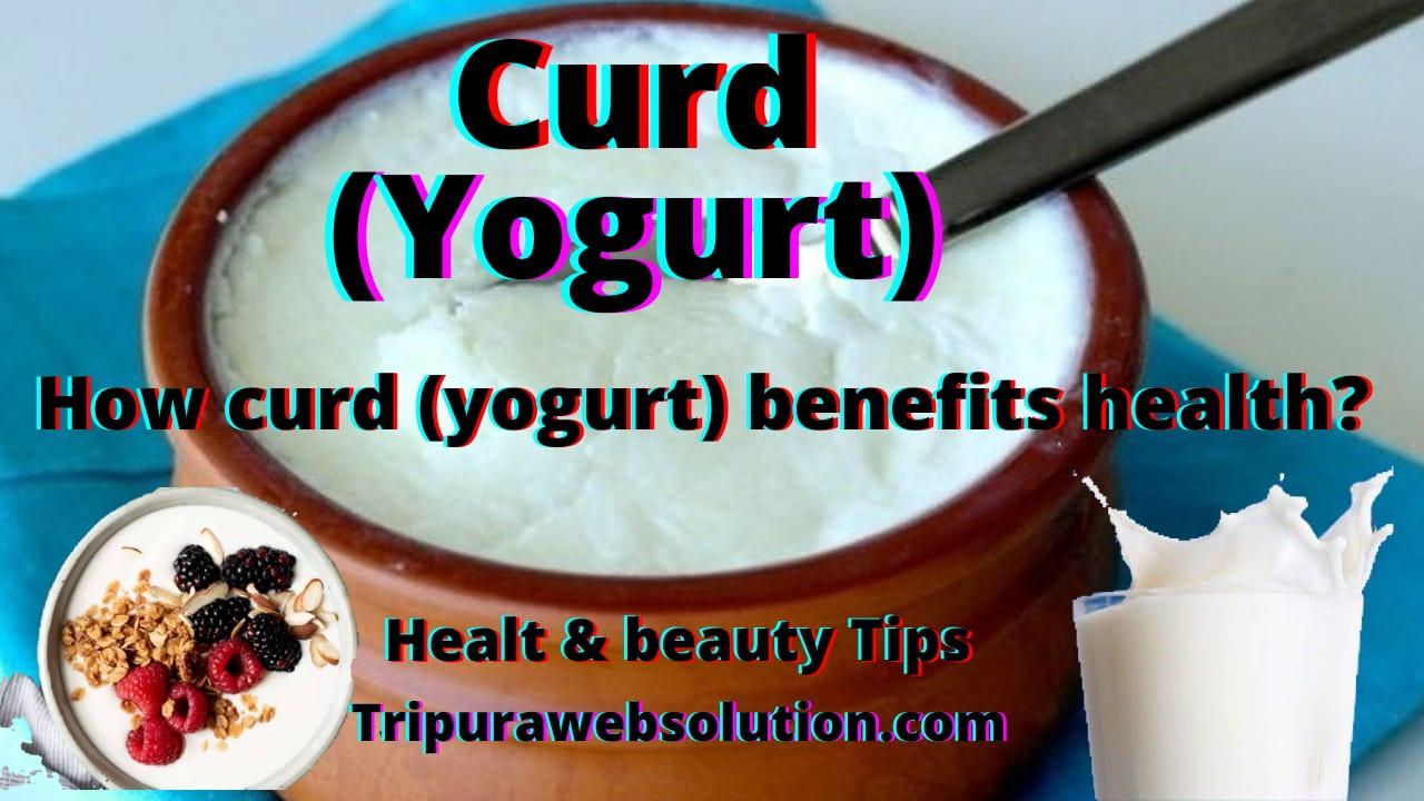How curd ( Yogurt) benefits health