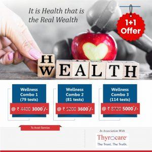 Thyrocare welness combo pack