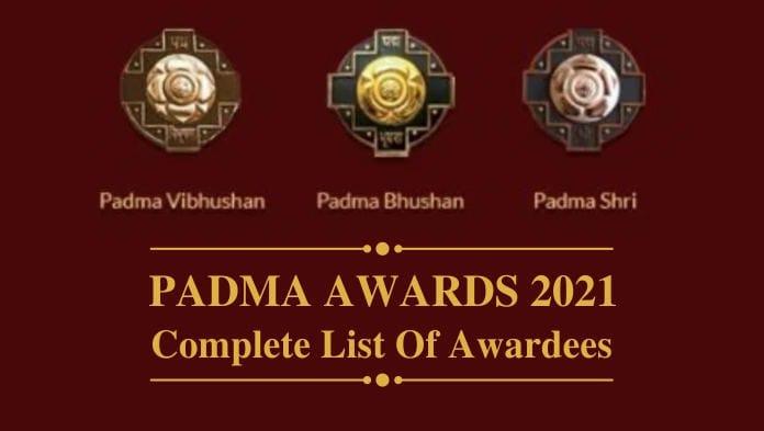 Padmashree Award 2021