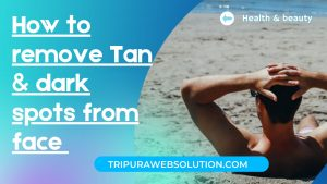 Tan and dark spot image