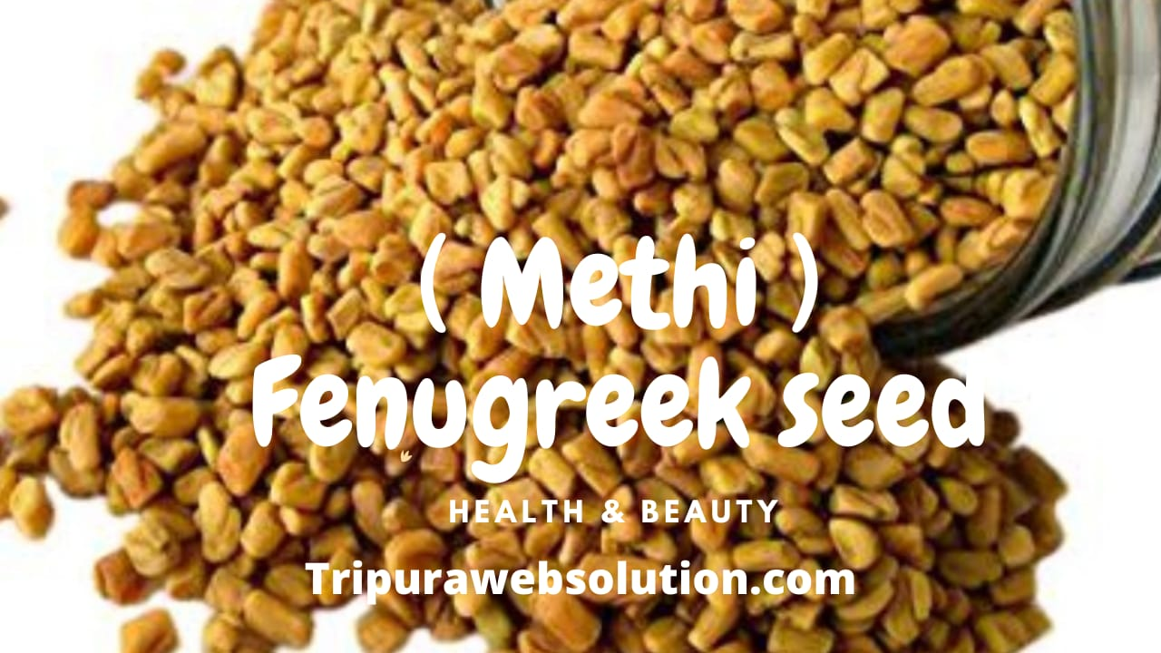 Benefits of fenugreek (Methi) for the stomach.