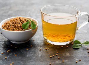 methi tea Benefits of fenugreek (Methi) for the stomach.