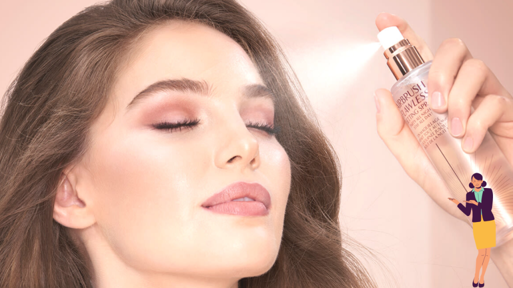 How to use Makeup setting Spray?